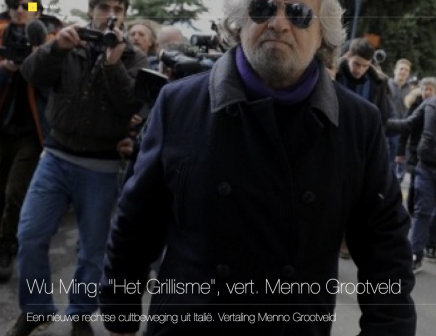 """Wu Ming: """"Het Grillisme"""", vert. MennoGrootveld"""