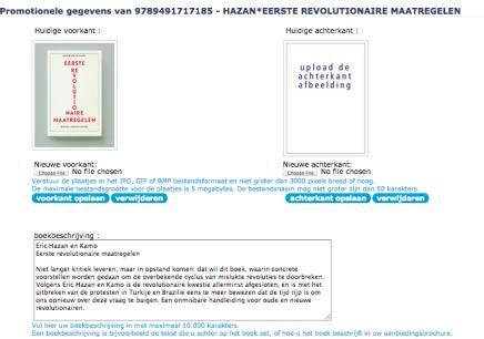 Eric Hazan en Kamo Eerste revolutionairemaatregelen