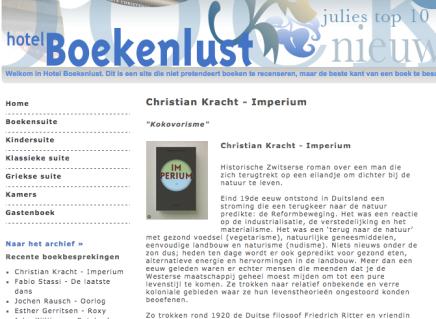 "Christian Kracht – Imperium ""Kokovorisme"""