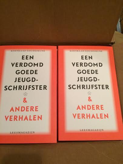Koenraad Goudeseune, Een verdomd goede jeugdschrijfster & andere verhalen. Nuleverbaar!