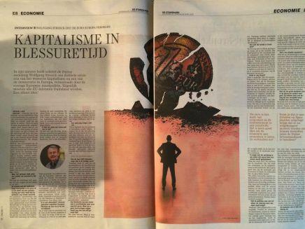 INTERVIEW : WOLFGANG STREECK ZIET DE EURO EUROPA VERDELEN  Kapitalisme in blessuretijd, 25 APRIL 2015 | Michiel Leen, DeStandaard