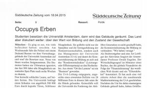 17. April 2015, 18:54 Uhr Niederlande Occupys Erben over Wolfgang Streek