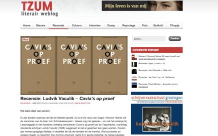 Recensie: Ludvík Vaculík – Cavia's op proef   1 MEI 2015 door Johannes van derSluis