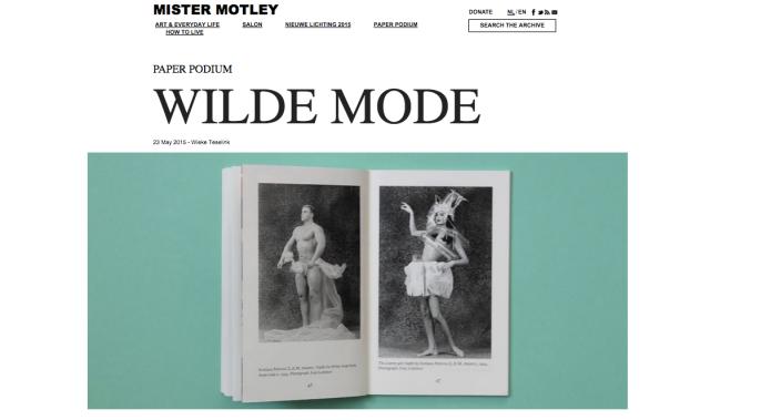 Wilde Mode, Wieke Teselink