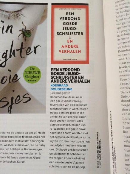 Een verdomd goede jeugdschrijfster en andere verhalen, Herman Brusselmans, Playboy, Juni2015