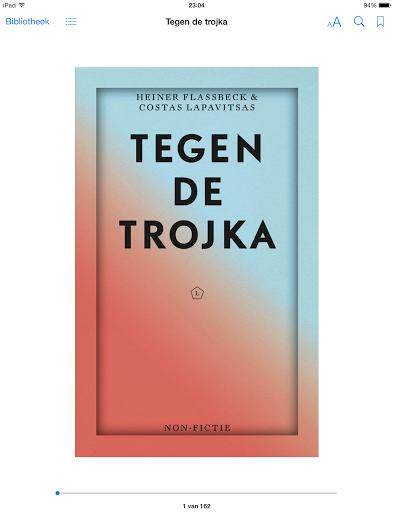 Tegen de trojka – ebook..binnenkort