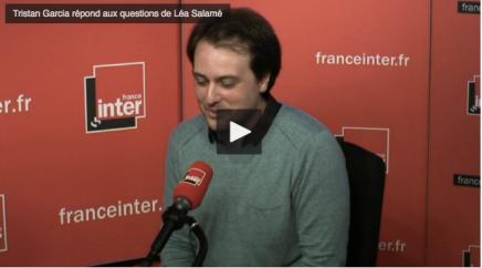 Tristan Garcia, 42ème prix du LivreInter