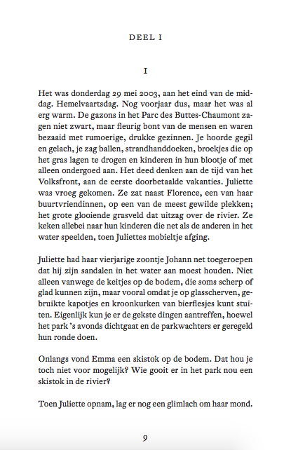 Het was donderdag 29 mei 2003, aan het eind van de middag. Hemelvaartsdag. 1e opmaak, Tussenbeide, NellyAlard.