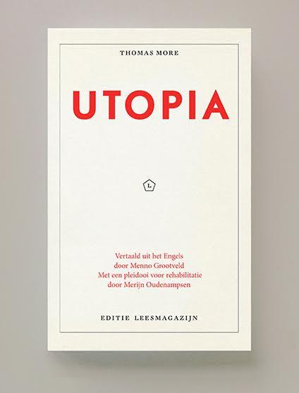 Utopia, Thomas More, Merijn Oudenampsen, Menno Grootveld, Leesmagazijn