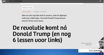 De revolutie komt ná Donald Trump (en nog 6 lessen voor links), Willem Schinkel 'citeert' WolfgangStreeck