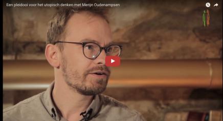 Een pleidooi voor het utopisch denken met Merijn Oudenampsen @ DeFigurant